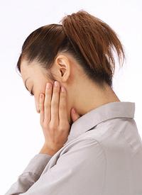 歯ぎしり・食いしばりによる顎の痛み