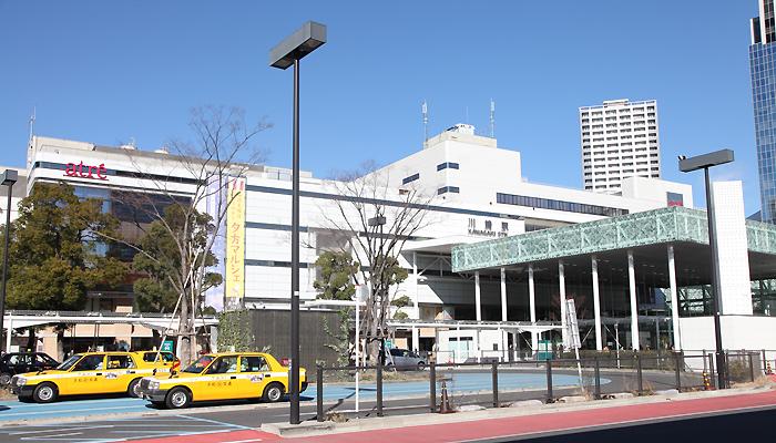 川崎駅東口から徒歩1分